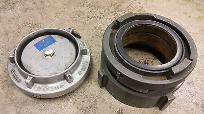 5 Storz x 6 NH Fire Engine Adapter