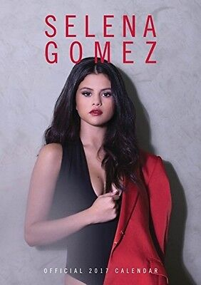 Selena Gomez Official 2017 A3 Wall Calendar - FAST AND FREE DELIVERY