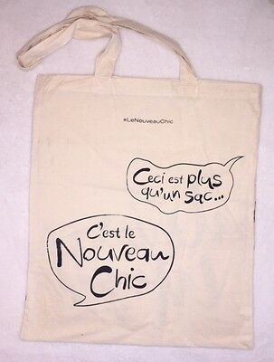 Galeries Lafayette Shopping Tote Bag Purse High Quality Cotton French Chic RARE