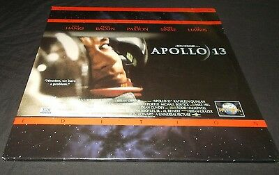 Apollo 13 Laser Disc Laserdisc Vgc Tom Hanks  2 Disc Set Letterbox Edition