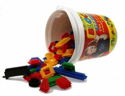Thistle Blocks Bucket Construction Toy - 108 Pieces - FAST AND FREE DELIVERY
