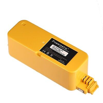 Powerextra 14.4V 3500mAh Replacement Battery for iRobot Roomba 400 series Roo...