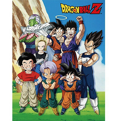 NEW Great Eastern Sublimation Blanket Dragon Ball Z Group in Lawn GE-57786