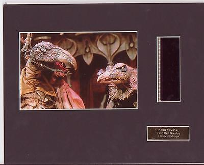 The Dark Crystal Film Cell Display Limited Edition Extremely Rare