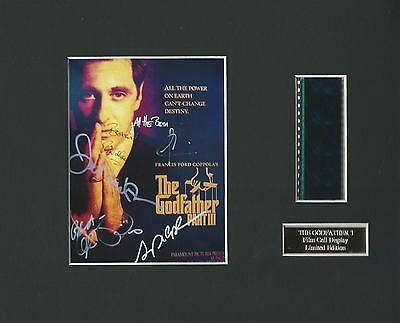 The Godfather 3 Film Cell #2 Display Limited Edition Extremely Rare