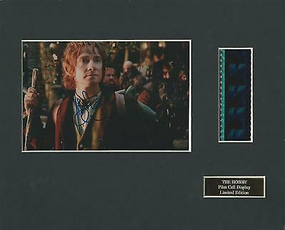 The Hobbit Movie Film Cell Display Limited Edition