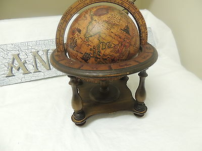 Vintage Olde World Globe  Made In Italy Zodiac, Mint Condition, No peel