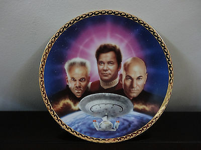Star Trek The Ultimate Confrontation Generations Plate Collection.