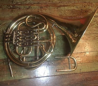 RARE French Horn Besson 406 Germany Democratic Republic(GDR)Serial 2551 M & Case