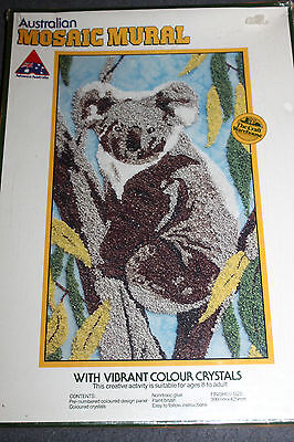 New & Unused   AUSTRALIAN MOSAIC MURAL KIT - KOALA  NEW KIT