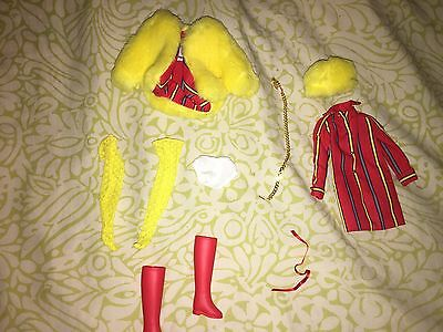 Vintage Mod Era Reproduction Barbie Fashion Smasheroo Outfit   NO DOLL or box!