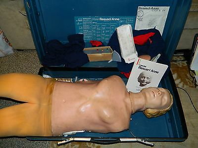 Laerdal Resusci Anne Recording Fully Body CPR Manikin Dummy With CONTROLLER