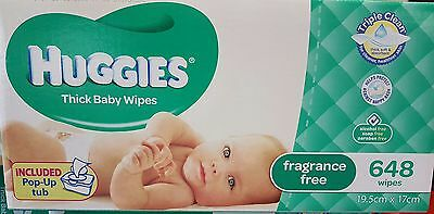 Huggies Thick Baby Wipes
