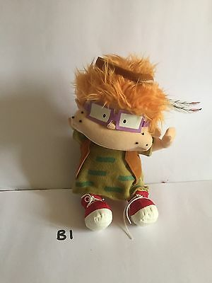 Chuckie from the Rugrats Soft Plush Vintage Nickelodeon Cartoon Character