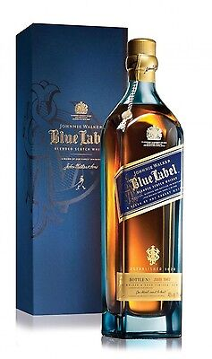 Johnnie Walker Blue Label Blended Scotch Whisky Boxed 700 Ml