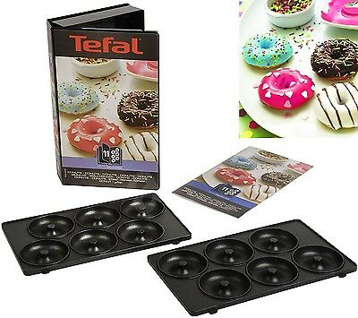 TEFAL-XA 8011 SNACK COLLECTION PLATES SET DONUTS ACCESSORIES TEFAL NEW doughnut