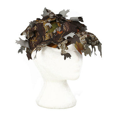 Camouflage Outdoor Tactical Cap with Bionic Leaf Camo Hunting Hat Jungle