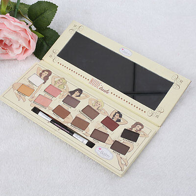 12 Colors Matte Eyeshadow Palette Makeup Eye Shadow With Brush Colorful