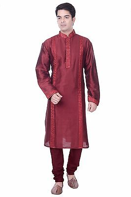 Kurta Bollywood Men's Sherwani Churidar Ethnic Readymade Wedding Designer Indian