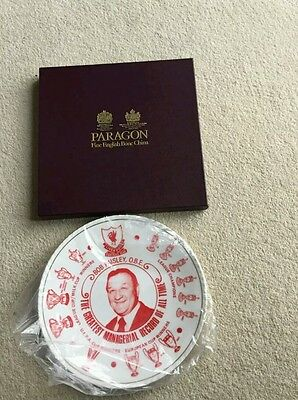 Bob Paisley Limited edition plate made by Royal Doulton. .Immaculate condition