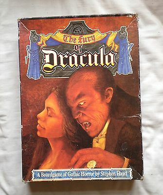The Fury of Dracula ,Games Workshop Board Game Limited Edition Boxed - VINTAGE