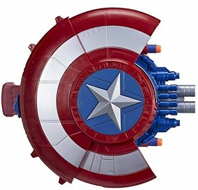 Marvel Civil War Captain America Blaster Reveal Shield - FAST AND FREE DELIVERY