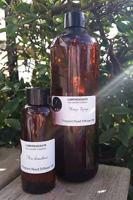 Fragrant Reed Diffuser Oil Refill - 520ml  ** plus 20 free reed sticks **