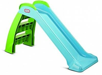 Little Tikes First Slide Easy Assembly Great Stability - Blue and Green
