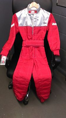 MIR Karting Race Suit Size 30 Red