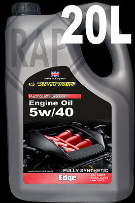 SH 5w40 C3 PD Spec Low SAPS Fully Synthetic Engine oil 20L MB BMW VW GM FORD