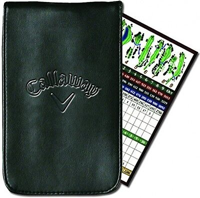 Callaway Synthetic Leather Standard Score Card Outer Holder - Black
