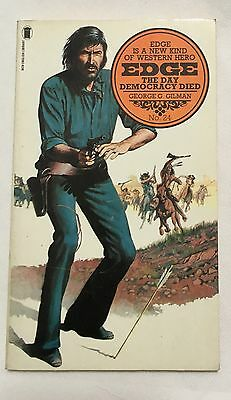 Edge The Day Democracy Died George G.Gilman NO.24 Paperback