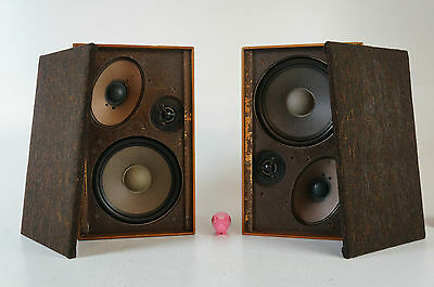 grundig hifi lautsprecher box 412 speaker vintage boxen lautsprecher 30 40 watt. Black Bedroom Furniture Sets. Home Design Ideas