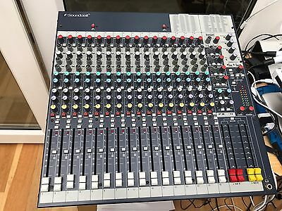 Soundcraft FX16II SPIRIT FOLIO Stereo Mixer with Lexicon Effects