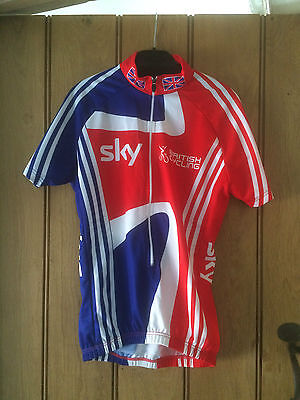 OFFICIAL TEAM GB ADIDAS SKY Cycling Jersey team issue shirt Size XS