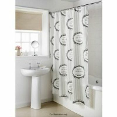 Shower Curtain Shabby Chic French Vintage Style Salle De Bain Stripey