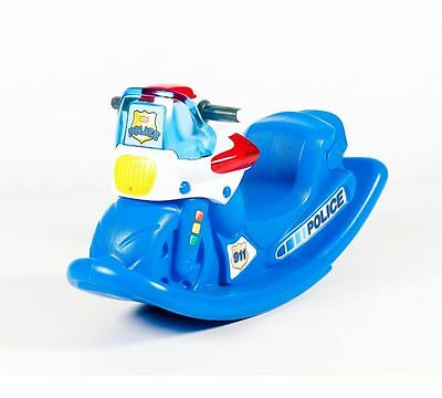 Little Tikes Police Cycle Sounds Rocker new without box
