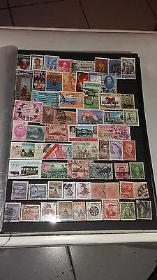 60 timbres Philippines (lot 27)