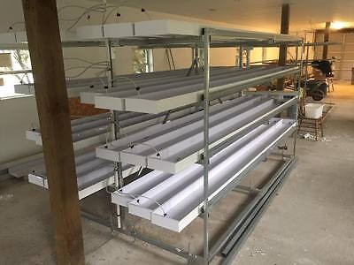 2 Complete Commerical FarmTek Hydroponic Fodder Feed systems. Half Price to New