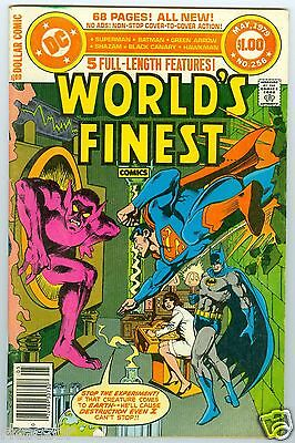 World's Finest #256 May 1979  Fine