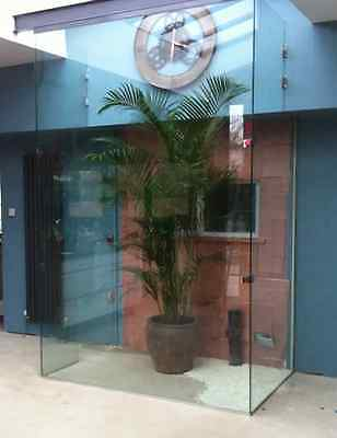 glass partition wall home
