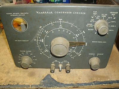 HEATHKIT C-3 CAPACITOR CHECKER Parts only