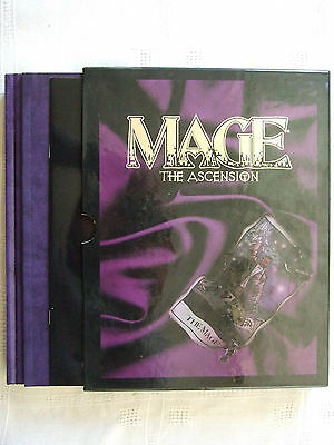 Mage the Ascension Limited Revised Slipcase Edition with Artbook