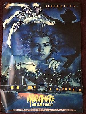 A Nightmare on Elm Street - one sheet quad cinema film poster