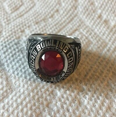 ABC 800 Award American Bowling Congress Ring Size 10