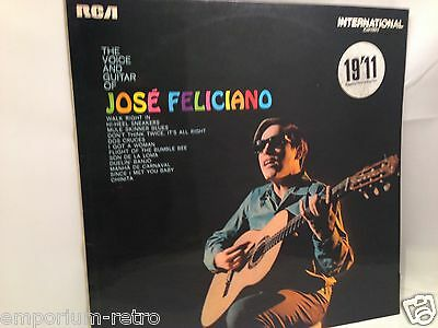 Jose Feliciano The Voice And Guitar Of Rca Stereo 1970 Uk Nr Mint