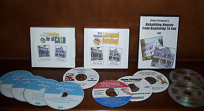 Real Estate Rehabbing Complete Courses Tigrent Learning Dvds/audio Cds/cdroms