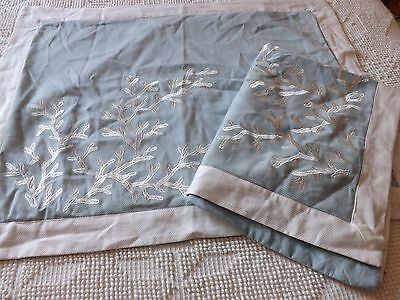 HILLCREST Nautical Shabby French Country Pillowcase SHAM Bedding Cottage Beach