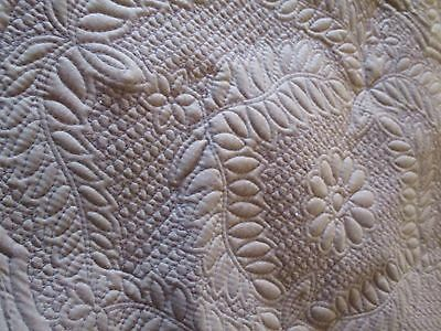 Vintage primitive look quilt PLACE MAT French Country Cabin Cottage CHIC Shabby