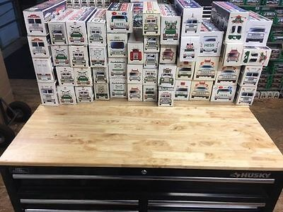 LOOK AT THIS HUGE LOT! HUGE Hess truck Lot!!! HUGE Lot of 47 Trucks $12.30 EACH